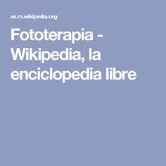 Fototerapia - Wikipedia, la enciclopedia libre