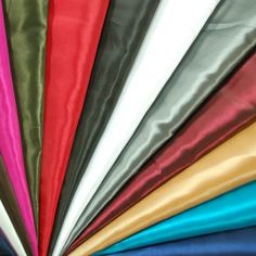 Plain Shiny Shot Taffeta 100% Polyester Fabric