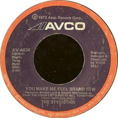 "The Stylistics - ""You Make Me Feel Brand New."" Written by Thom Bell and Linda Creed. Stone In Love, Phyllis Hyman, The Stylistics, Roberta Flack, 1970s Music, Smokey Robinson, Oldies But Goodies, Soul Music, Writing Skills"