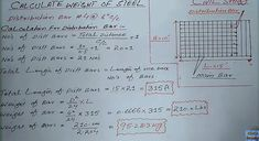 Check out how to calculate weight of steel bar in kg. Also, check out how to calculate weight of steel in pounds.