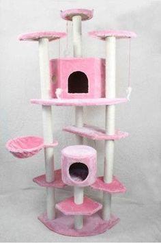Premium 80 inch Cat Tree Tower Condo