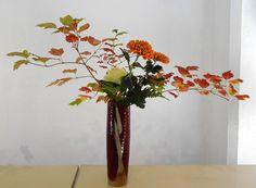 Ikebana Nageire de chrysanthème   by petitecoco61