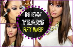 New Year's Eve PARTY Makeup- Complete Look