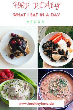Wie ich mich auf dieses Food Diary gefreut habe! Hier erfährst du, was einen Tag lang auf meinem Teller gelandet ist! #veganfooddiary #vegan #fooddiary #food #whatIeatinaday #rezepte #vegankochen #kochen #rezept #diary #inspiration #veganeküche