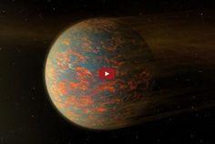 provocative-planet-pics-please.tumblr.com Cancri 55 e: Klimamuster auf einer Lavawelt Illustrationscredit: NASA JPL-Caltech Weltraumteleskop Spitzer Beschreibung: Warum sollte man die Supererde Cancri 55 e besuchen? Ihr extrem heißes Klima wäre abschreckend da der Morgen auf dieser Welt frische Lavaflüsse bringen kann. Der 2004 entdeckte Planet Cancri 55 e besitzt den doppelten Durchmesser unserer Erde und etwa 10 Erdmassen. Der Planet umkreist seinen 40 Lichtjahre entfernten sonnenähnlichen…