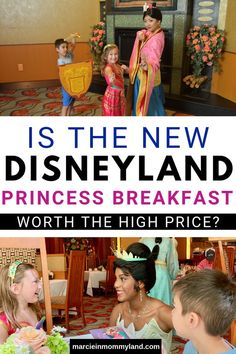 Are you looking for all the details on the new Disneyland Princess Breakfast Adventures at Napa Rose at Disney's Grand Californian Hotel & Spa? This is the ultimate guide to this Disneyland Character Dining experience. Find out the prices, menu and which Disney princesses you'll meet at the Disneyland Princess character meal. #DisneylandPrincess #DisneyPrincess #DisneylandFood