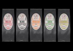 Metrio Tea on Packaging Design Served