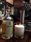 'Start your weekend off right with our new cocktail special! Rhubarb Sour includes Art in the Age Rhubarb liquer, lemon juice, lime juice, simple syrup, egg white with a cherry and lemon peel garnish!'