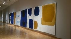 The Altnagelvin mural by William Scott Best Abstract Paintings, Painting Art, Abstract Art, Sean Scully, Art Thou, Modern Masters, Blue Colors, Art World, Abstract Expressionism