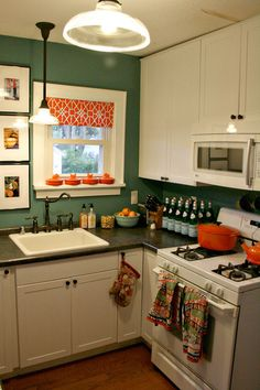 1000 images about turquoise and orange kitchen on - Turquoise and orange kitchen ...