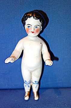 Frozen Charlotte Doll with Shoes