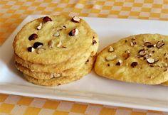 Fehércsokoládés-kókuszos cookie