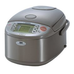 Zojirushi (Uncooked) Rice Cooker and Warmer with Induction Heating System, Stainless Steel: Kitchen & Dining Best Rice Cooker, Best Pressure Cooker, Best Slow Cooker, Stainless Steel Rice Cooker, Stainless Steel Kitchen, Small Appliances, Kitchen Appliances, Kitchens, Zojirushi Rice Cooker