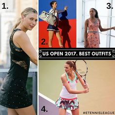 We picked out 4 US Open Outfits we liked the most. What do you guys think? COMMENT BELOW! ;) ⠀ #etennisleague #etennisleaguenation #usopen #tennisgear #tennisfashion #tennislife #tennisgirl #tennislove #tennisoutfit #fashionable #tennis #tennistournament