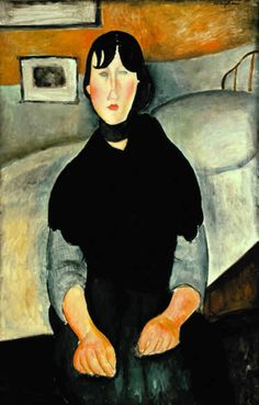 Young Woman of the People - Amedeo Modigliani