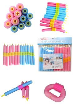 [Visit to Buy] Foam Curler 12pcs/lot Popular Magical Anion Hair Curler Soft Pearl Sponge Hair Care Styling Roll Stick Roller Curler #Advertisement
