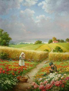 Peinture de Toth Gabor