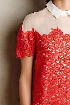 Lillan Lace Shift - anthropologie.com #anthrofave