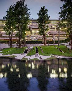 PYNE Condominium landscape design by TROP for Sansiri, Wison Tungthunya, W Workspace