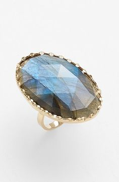 Lana Jewelry 'Ultra' Large Labradorite Ring