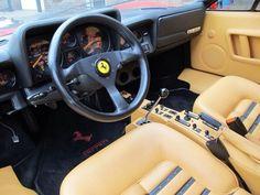 Ferrari 512BB Inside