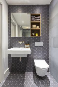 Bathroom design by Frank&Faber. Wet Room Bathroom, Small Bathroom Interior, Bathroom Design Small, Modern Bathroom, Bath Design, Bath Room, Design 24, Bath Tub Fun, Diy Bathtub