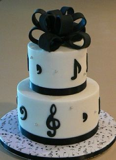 musical inspired cakes | Musical-Themed Birthday Cake — Other Cakes