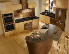 Jenn-Air Oiled Bronze transitional-major-kitchen-appliances