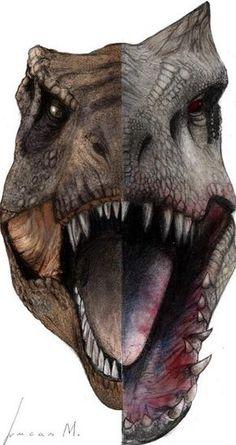 Jurassic World: T-Rex & Indominus Rex Jurassic Movies, Jurassic Park Series, Jurassic Park World, Indominus Rex, Tyrannosaurus Rex, Jurrassic Park, Michael Crichton, Jurassic World Fallen Kingdom, Charlotte Bronte