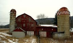 Old Barns - I would convert these into the most awesome, most epic apartment, EVER.