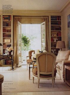 Another View of Deeda's Library...Love...