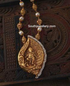 Gold Balls Chain with Ganesh Pendant
