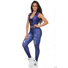 709c649be518 Dunas Fake Jeans Destroyed Jumpsuit. Dunas Fake Jeans Destroyed Jumpsuit - Donna  Shape
