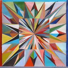 """Caja de luz 3"" , acrylic on canvas, 60 x 59 cm, 2013"