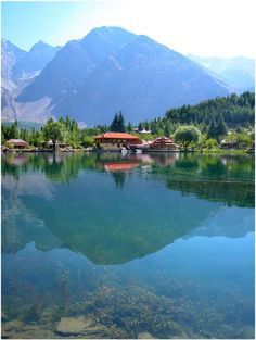 """Shangrila Resorts – Located at a drive of about 20 minutes from Skardu, Pakistan. It is also known as """"Heaven on Earth""""."""