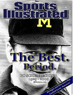 Bo Shembechler - the best football coach and the be leader. things-and-people-that-inspire-me Michigan Wolverines Football, Michigan Athletics, College Football Teams, Football And Basketball, Football Coaches, Colleges In Michigan, University Of Michigan, Bo Schembechler, Michigan Go Blue