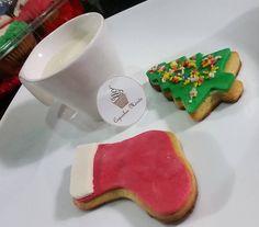 #cookies #christmas #milk #cute #delicious