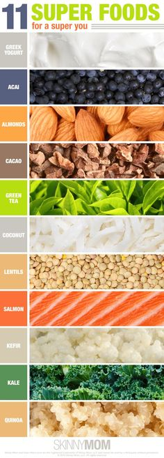 Learn about SUPER FOODS - what they are and how to add them to your diet. Click to read.