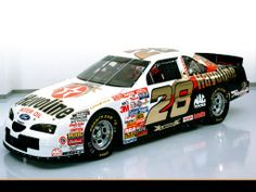The Ford TEXACO Havoline race car with a special Anniversary paint scheme.