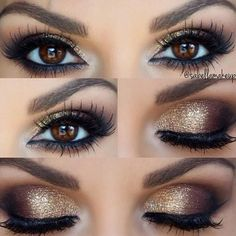 15 Marvellous Metallic Makeup Looks You Should Try - Celeb Gossip And Entertiment News