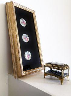 Excited to share the latest addition to my #etsy shop: Fragonard Love Story Cameos Shadowbox Framed Vintage Limoges Porcelain On Black Velveteen Under Glass Hollywood Regency Rococo Home Decor http://etsy.me/2ClIgv2 #art #mixedmedia #glassshadowbox #hollywoodregency