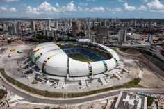 How vacant #WorldCup stadiums could be turned into housing. #1Week1Project