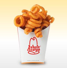 Arby's Curly Fries. There's a link for making them homemade. I don't care about that. It's the drive-thru for me. Yummy!!