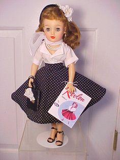 Vintage Ideal MISS REVLON VT-18 Doll with Complete Costume