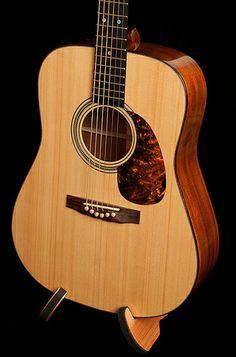 Lichty Guitars • Honduran Mahogany Dreadnought Guitar