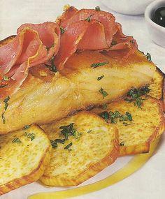 Bacalhau com Presunto e Batata-Doce