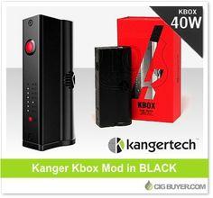 Black Kanger Kbox Mod – Just $25.16: http://www.cigbuyer.com/black-kanger-kbox-mod/ #ecigs #subohm #vaping #kanger #kbox #vapelife #vapedeals