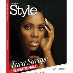 Photos: See Tiwa Savage's Shoot For ThisDay Style