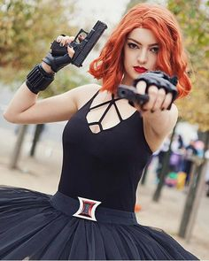 Ballerina Black Widow Cosplay by Graceless Cosplay Photographer: Cosplay Outfits, Cosplay Girls, Cosplay Costumes, Halloween Cosplay, Halloween Costumes, Famous Superheroes, Black Widow Cosplay, Marvel Cosplay, Amazing Cosplay