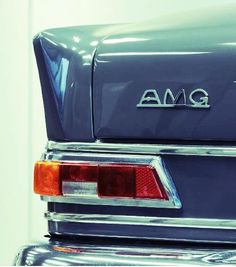 AMG lettering used in the 1960's.